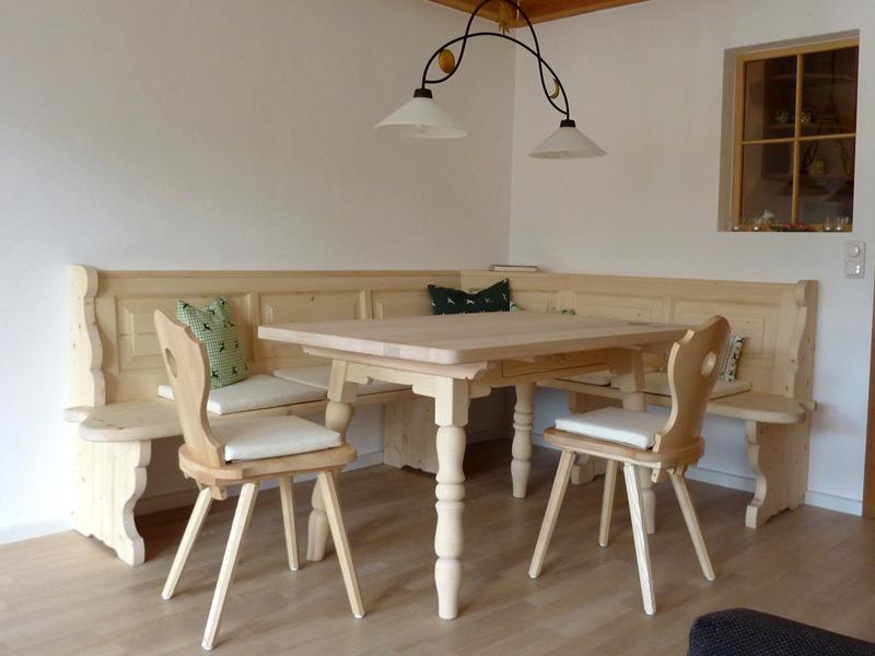 tisch und bank schreinerei home schreinerei hans. Black Bedroom Furniture Sets. Home Design Ideas
